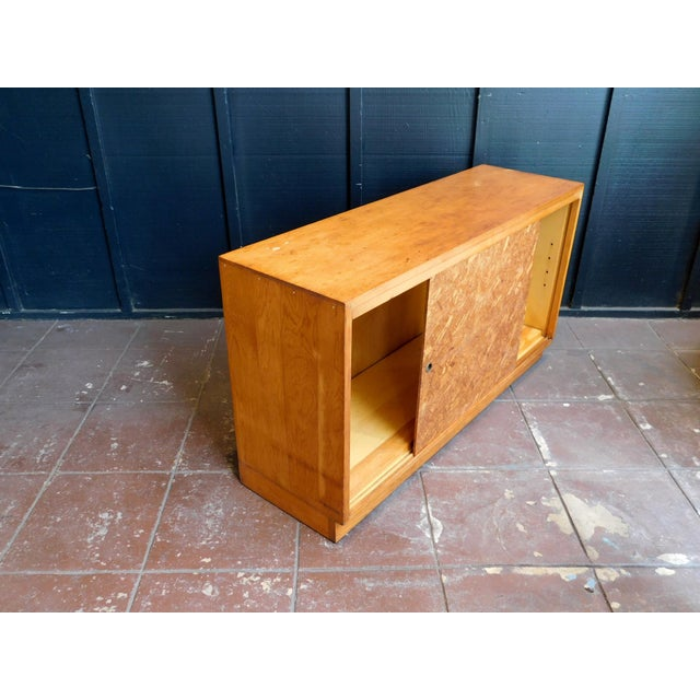Mid-Century Modern Mid Century Wooden Cabinet For Sale - Image 3 of 9