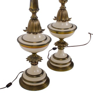 Stiffel Torchiere Table Lamps - a Pair Preview