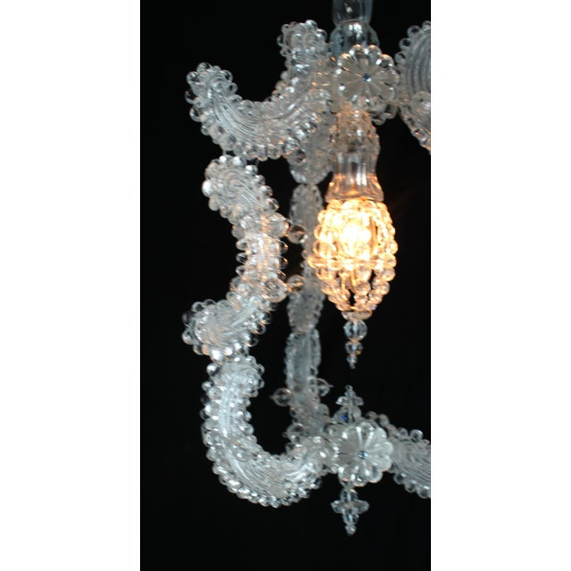 Venetian Glass Pendant Lantern For Sale - Image 4 of 9
