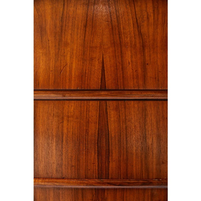 Large 19th Century Biedermeier Commode of Rosewood For Sale - Image 9 of 13