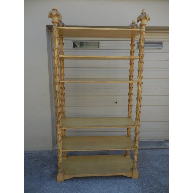 Mid-Century Palm Etagere - Image 5 of 5