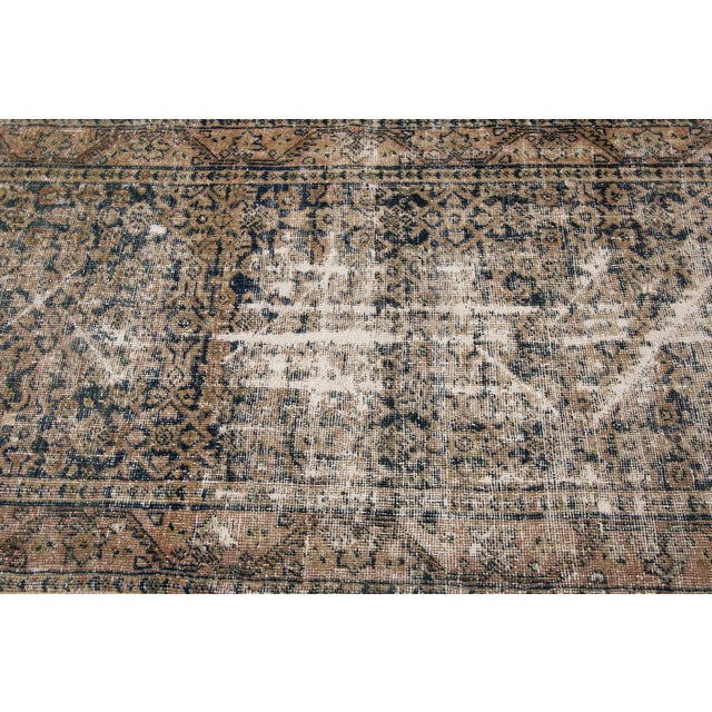 """Apadana-Antique Persian Distressed Rug, 3'0"""" X 11'7"""" For Sale In New York - Image 6 of 10"""