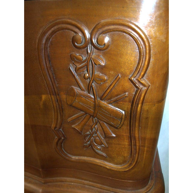 Carved Walnut French Console For Sale In Raleigh - Image 6 of 10