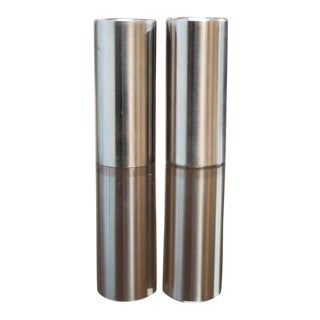 Mid Century Arne Jacobsen Salt and Pepper Shakers- A Pair For Sale