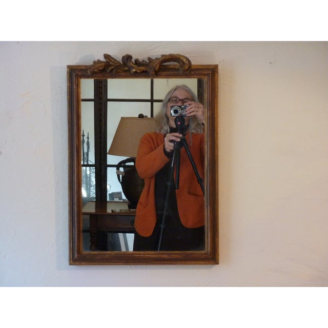 Italian Carved Wood Mirror - Image 2 of 5