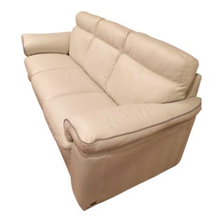 Leather Natuzzi Sofa