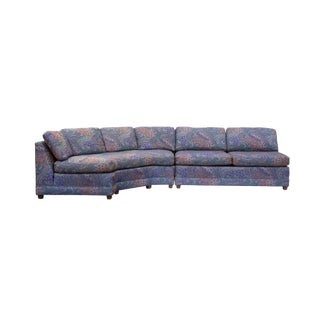 Armless Sectional Sofa by Baker Furniture For Sale