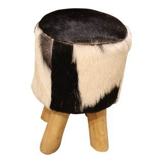 Goat Hide Stool For Sale