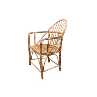 1940s Vintage Bentwood Bamboo Chair For Sale