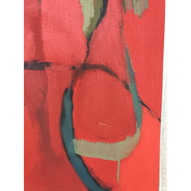 Abstract Expressionism Abstract Oil on Canvas Painting For Sale - Image 3 of 7