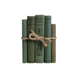 Vintage Fun at Home Books Gift Set, S/5 For Sale
