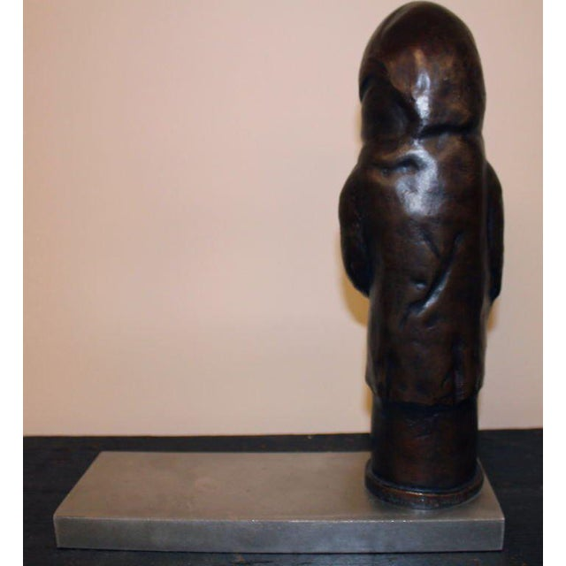 "Early 21st Century Bronze by Newburgh Artist Ivan Palmer Titled ""3 Am"" For Sale - Image 5 of 9"