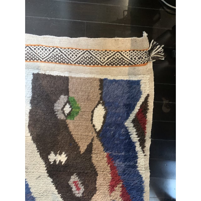 13' X 7' Large Moroccan Rug For Sale - Image 4 of 9