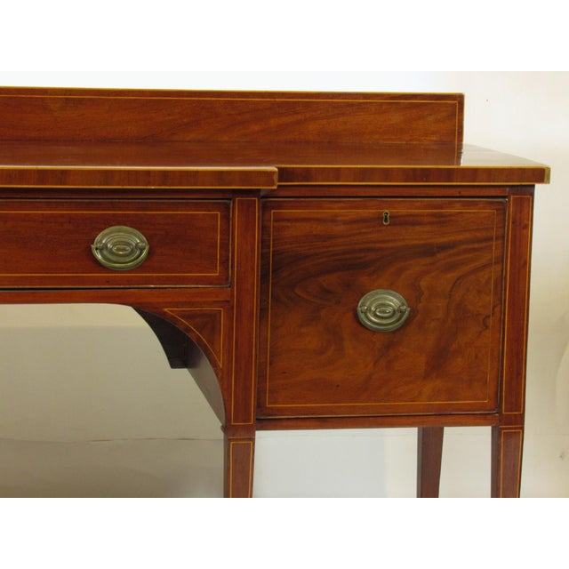 18th Century George III Inlaid Sideboard For Sale In Boston - Image 6 of 10