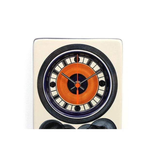 Mid-Century Modern Rorstrand Ceramic Clock Designed by Marianne Westman For Sale - Image 3 of 10