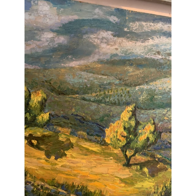 Impressionism California Plein Air Landscape Painting For Sale - Image 3 of 6