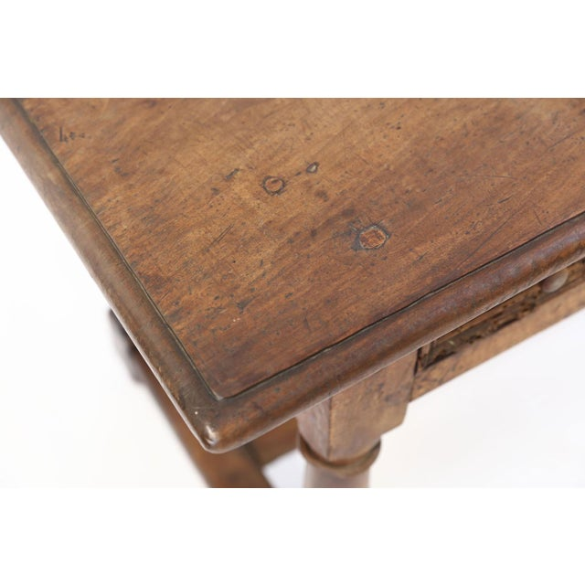 Early 18th Century Early French Walnut Table For Sale - Image 5 of 13