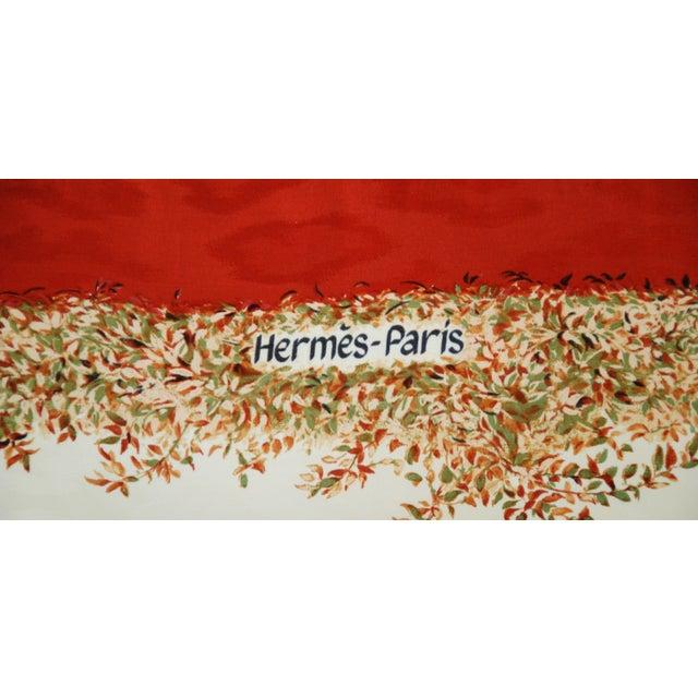 Custom Hermes Robert Dallet Safari Kenya Pillow - Image 7 of 11