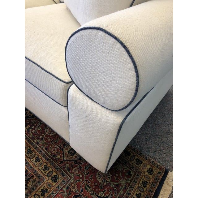 Fabric Modern Hickory Kennedy Sofa For Sale - Image 7 of 9