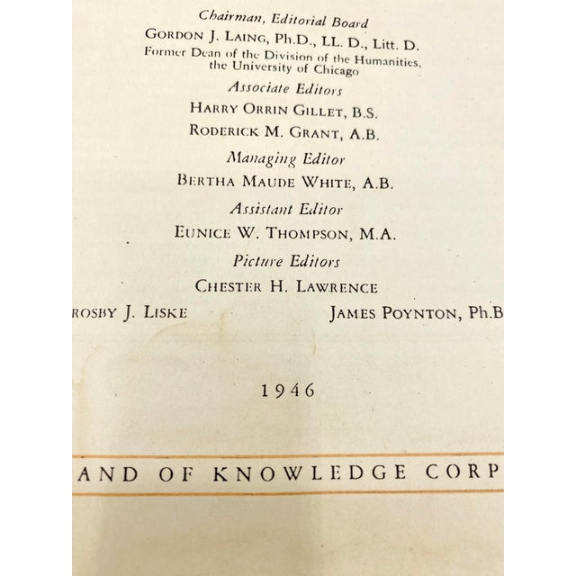 Paper C.1946 the Wonderland of Knowledge Book For Sale - Image 7 of 8
