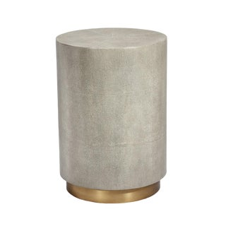 Interlude Home Kenzo Drum Table For Sale