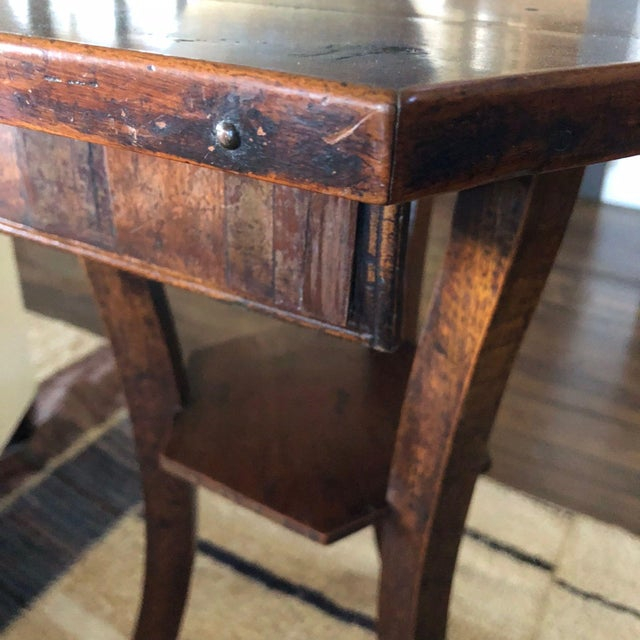 18th Century English Octagonal Side Table For Sale - Image 4 of 5