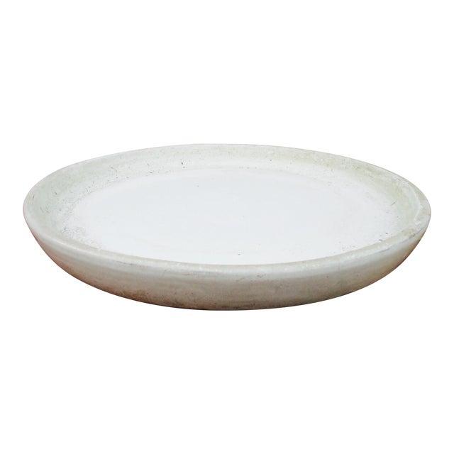 Vintage Ceramic Planter Drip Saucer - Image 1 of 8