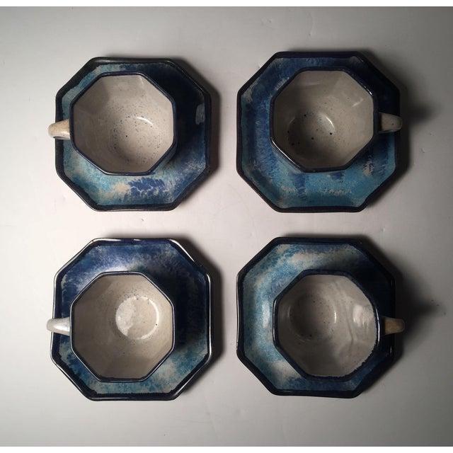 Mid 20th Century Gordon Martz Ceramic Teacups / Dinnerware For Sale - Image 5 of 12
