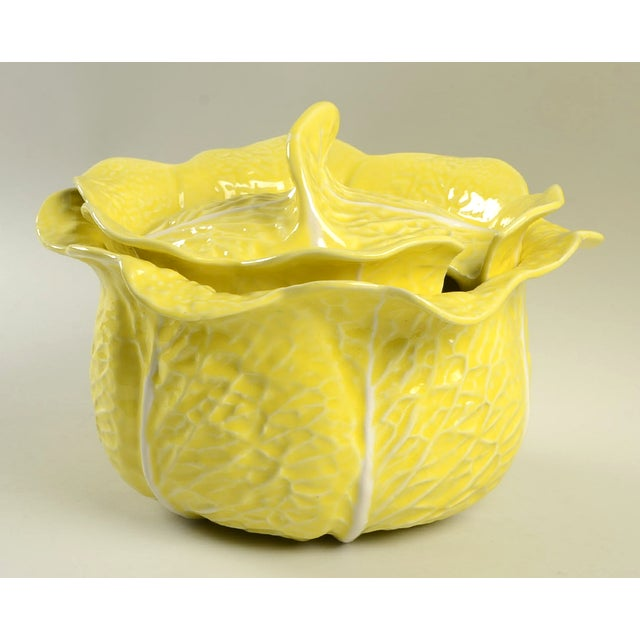 Secla Cabbage-Yellow Tureen For Sale - Image 11 of 11