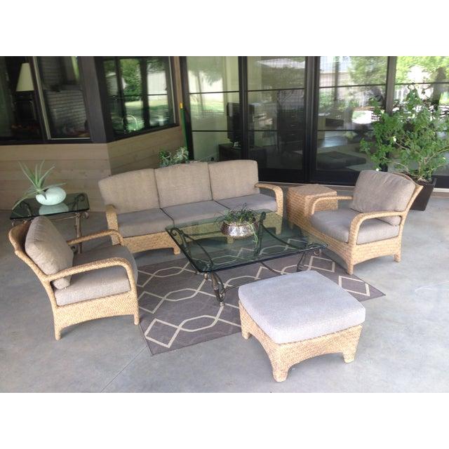 Brown Jordan Outdoor Patio Sofa - Image 8 of 10
