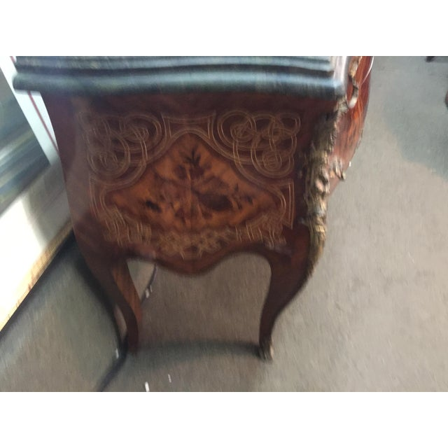 French Louis XV Style Marble Commode For Sale - Image 4 of 12