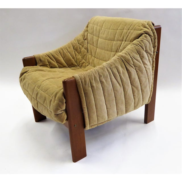 1970s Domino Mobler Danish Modern Solid Teak Lounge Chair For Sale - Image 12 of 13