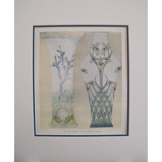 Art Deco Vase Print - Image 1 of 2
