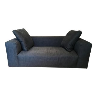 Ligne Roset Nils Medium Sofa in Charcoal For Sale