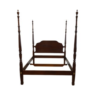 Statton Queen Size Centennial Cherry Poster Bed For Sale