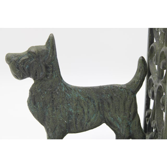 Mid 20th Century Vintage West Highland Terrier Dog Bookends For Sale - Image 5 of 10