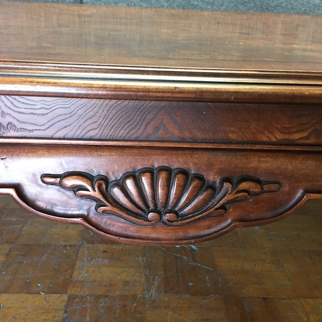 Thomasville Dining Table With 2 Leaves - Image 7 of 11