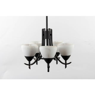 Arts & Crafts Style Gothic 5-Lamp Chandelier Preview