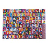 """Image of 1993 Peter Max """"100 Clinton's (Bill Clinton)"""" Poster For Sale"""