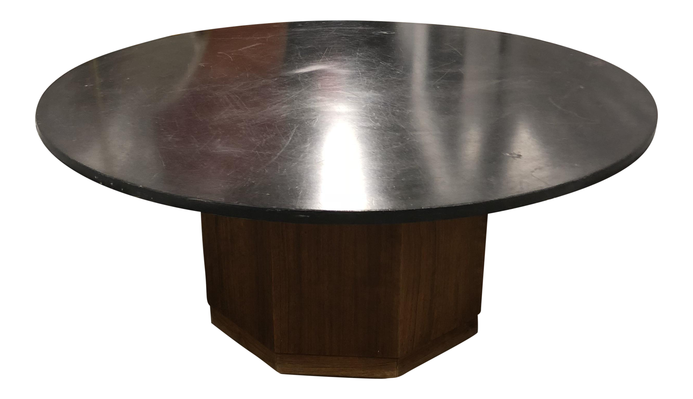 Modern Round SwivelTop Coffee Table Chairish