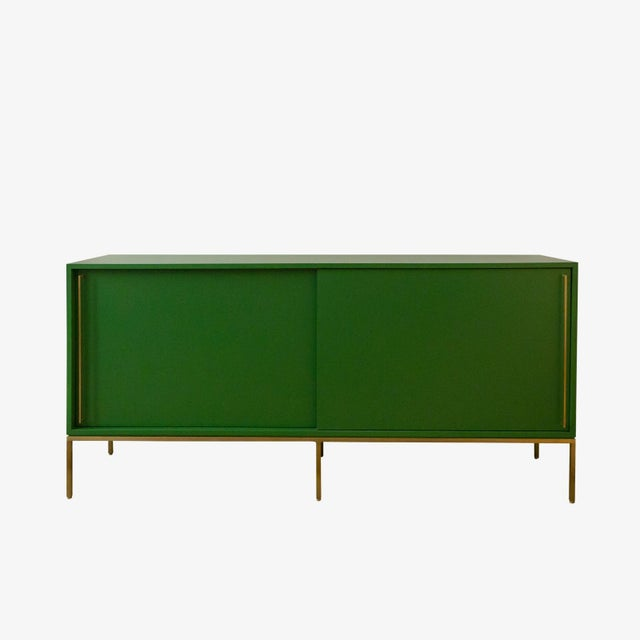 Regeneration credenzas are made to order and are available in a variety of finishes and sizes. This size and signature...