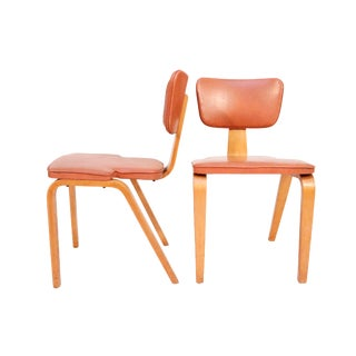 Mid Century Dining Chairs Designed by Thonet - A Pair For Sale