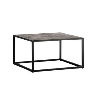 Lava Tile Patterned Coffee Table For Sale