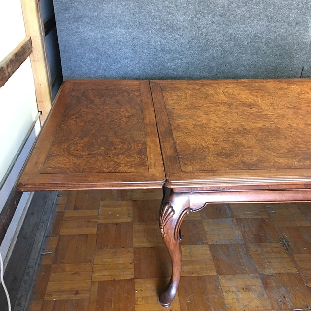 Thomasville Dining Table With 2 Leaves - Image 9 of 11