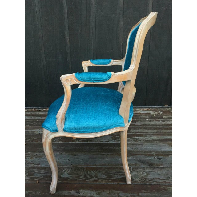 French Bergere Chairs - a Pair For Sale - Image 9 of 11