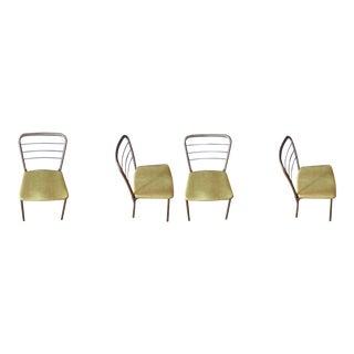 Vintage Cosco Folding Gate Leg Chairs - Set of 4