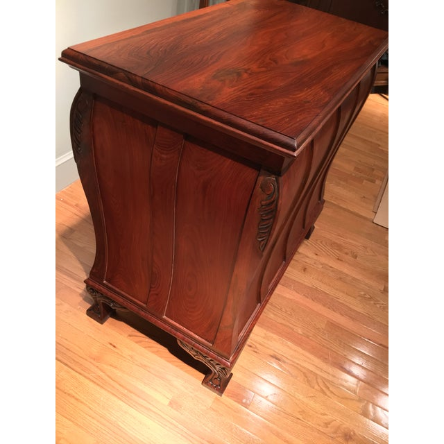Aurora Solid Rosewood Commode - Image 5 of 8