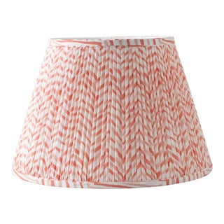 "Herringbone in Pink 10"" Lamp Shade, Pink For Sale"