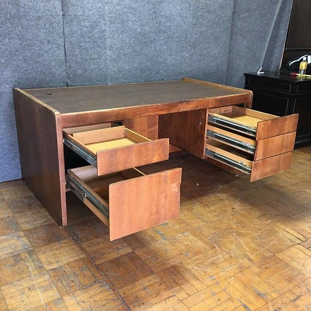 Vintage Modern Executive Desk - Image 6 of 10