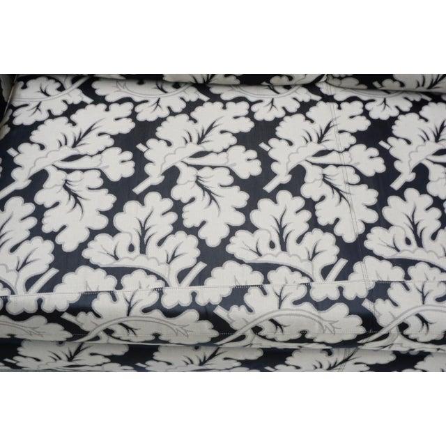 Armani Casa Silk Fig Leaf Tuxedo Sofa For Sale In San Diego - Image 6 of 10